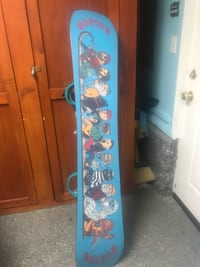 blue and pink floral wooden wardrobe
