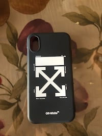 OFF WHITE iPhone X case Calgary, T2X 0K1