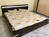 King size, low rise bed