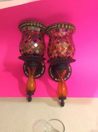 Party lite global fusion sconces. Brand new condition.   Over $100 on eBay beautiful Wheatfield, 14120