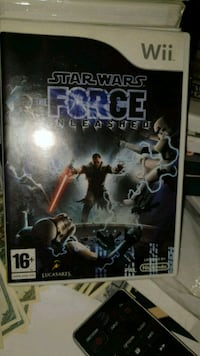 Star Wars the force unleashed Nintendo Wii  6250 km