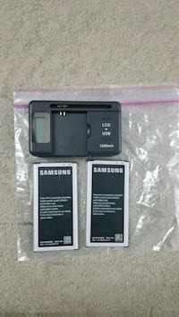 SamsungGalaxy4-5-6 batteries and charger for exter Denver