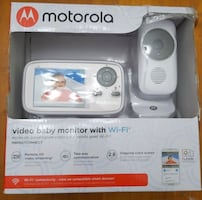 "Motorola MBP667CONNECT 2.8""  WiFi Video Baby Monitor w/ 1 Camera."