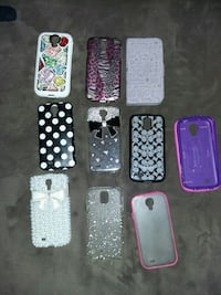 10 Samsung 4s phone cases all for $15 Fresno, 93706