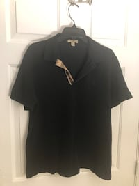 Burberry Black Polo Riverdale, 20737