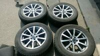 18×8 Andros N3 ADC Wheels with Winter Tires Kitchener, N2R 1Z6