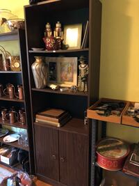 brown wooden cabinet with shelf San Jose, 95123