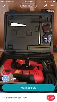 red and black corded power tool kit Norfolk, 23505