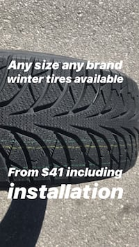 Brand new winter tires  Richmond Hill, L4C 5R4