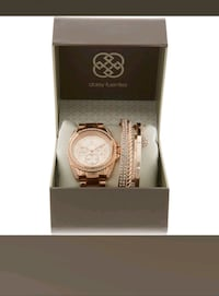 DAISY FUENTES  Rose Gold Watch & Braclet   Rælingen, 2008