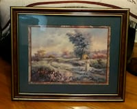 brown wooden framed painting of trees Hopewell, 23860