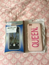 iPhone 6plus cases Brand new both $5 Burnaby, V5G 1M1