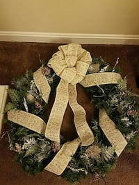 "Christmas wreath 30"" Frederick"