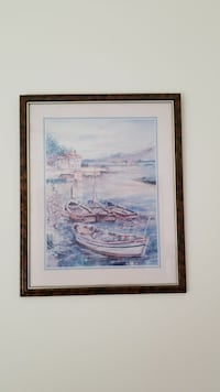 18W X 22T glass Framed picture Galena, 65656