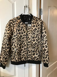 Animal print brand new jacket