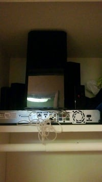 black and white home theater system 35 km