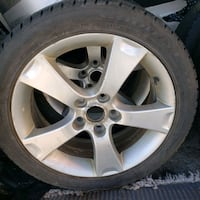 4 tires on rims Calgary, T2E 8P3