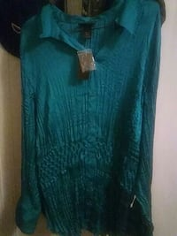 Green Lane Bryant dress blouse  Pittsburgh, 15207