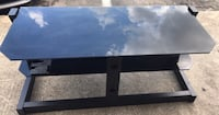 SELLING GLASS TV STAND  762 mi