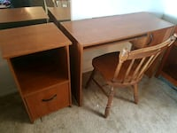 Desk, file cabinet and chair Mesa, 85215