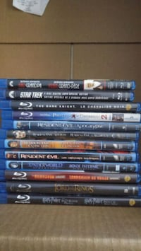 12 bluray movies Burnaby, V3N 3G7