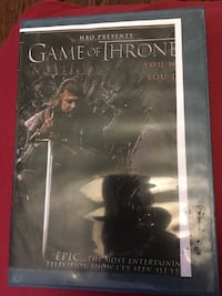 HBO Presents Game of Thrones DVD case Toronto, M9M 2T7