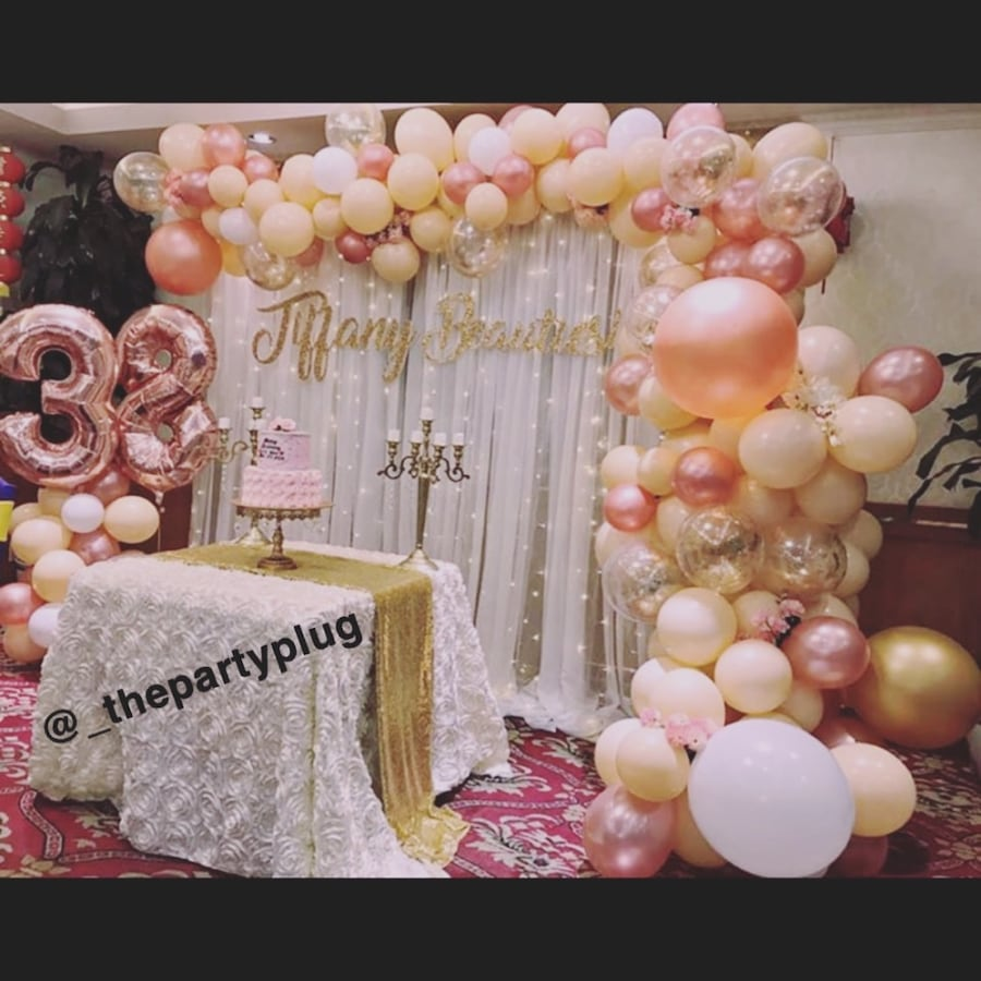 Event decorating services