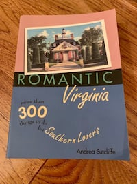 Romantic Virginia Book- Things to Do Burke, 22015