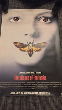 The silence of the lambs poster Wilmington, 28403