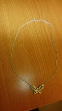 925 Silver necklace with butterfly pendant Las Vegas, 89106