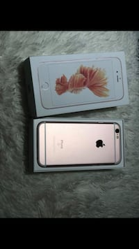 Rose gold iphone 6s 64 GB with box Ottawa, K2P