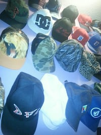 Over 250 different hats:)