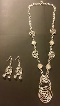 Knot Work Necklace and Earring Set Annapolis, 21401