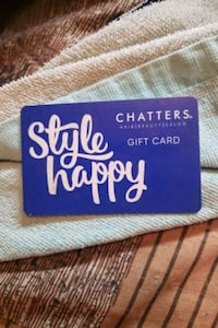 CHATTERS 50 DOLLER GIFT CARD