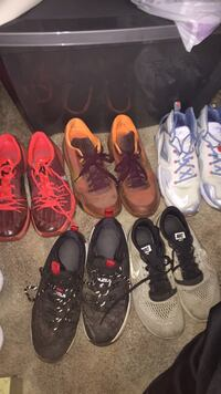 assorted pairs of basketball shoes Waterford, 53185