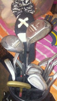 Full set of Golf clubs!