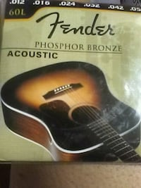 Fender 60L acoustic  strings  Westminster, 92683