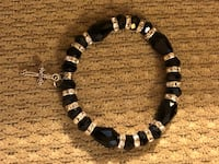 black and white beaded bracelet Rockville, 20852