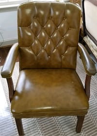 Chairs- faux leather