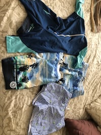 Swim gear 9yo boy Jacadi NOzone abercrombie Richmond Hill, L4C 4A6