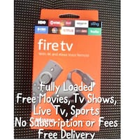 Amazon Fire Tv 3rd Gen (Free Delivery) Lombard