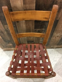 Vintage Leather Strip Chair Vancouver, 98662