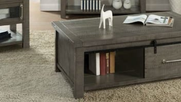 INDUSTRIAL CHARMS END TABLE