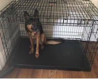 black and brown metal pet cage Bellevue, 15202