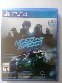 Need for Speed PS4 game case Tallahassee, 32301