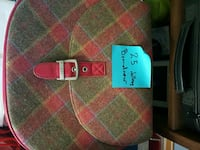 green and red Guess leather crossbody bag 2869 km