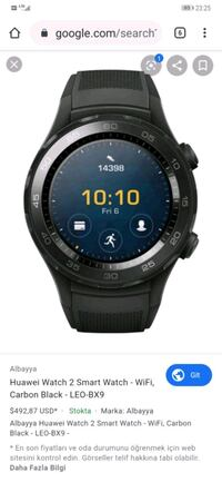 Huawei watch 2 Android saat