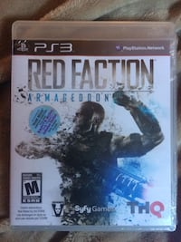 Ps3 Red Faction new never opened Edmonton, T5W