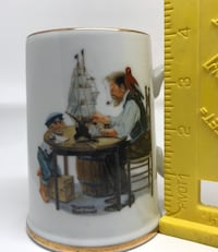 Vintage Norman Rockwell Mug Cup For a good Germantown, 20874