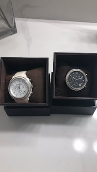 Michael Kors  black and white watch